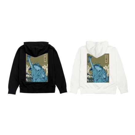 LIBERTY TOKYO 浮世絵自由式防寒着/自由東京 ¥9,800(税込)
