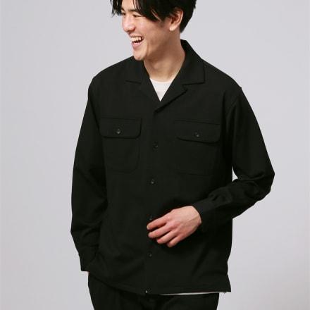 オープンカラーシャツ(6600円)