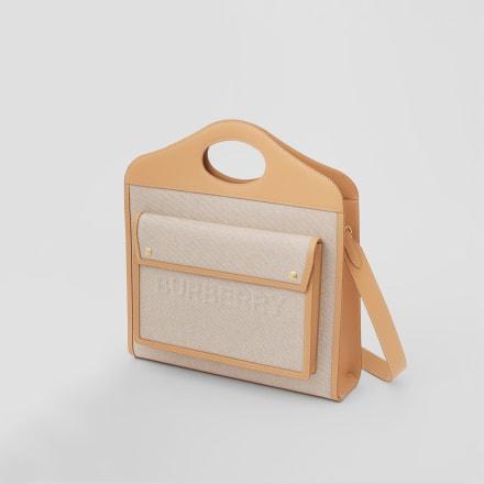 新色の「ポケットバッグ」の新色ソフトフォーンの「ポケットバッグ」 Image by BURBERRY