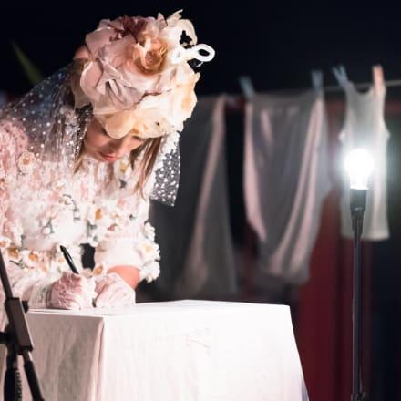 遠藤麻衣「アイ・アム・ノット・フェミニスト!」(参考画像/撮影:藤川琢史、宮澤 響)