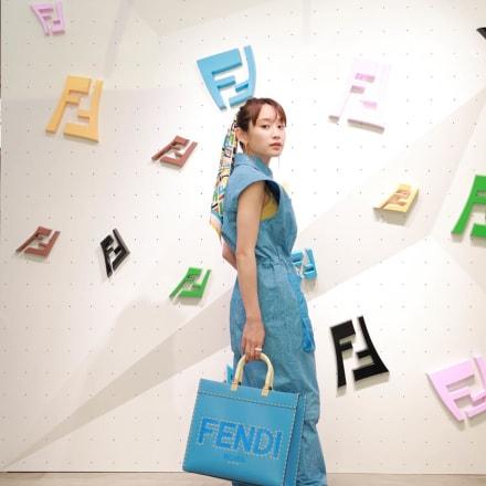 高橋愛 Image by FENDI