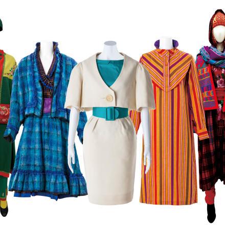 装苑賞受賞作品 中央と1970-80年代の作品 文化学園ファッションリソースセンター所蔵