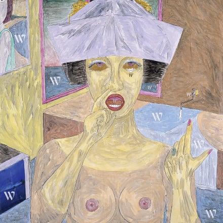 横尾忠則《Wの惑星》2005年 作家蔵