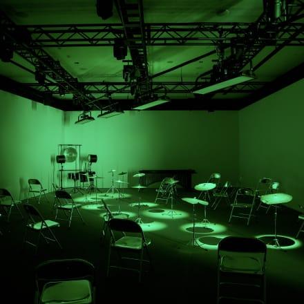 没入型のパフォーマンススペース Image by BOTTEGA VENETA