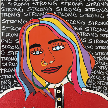 STRONG WOMAN Image by ©DINELSON