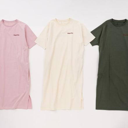 Tシャツワンピース(各税込9900円)