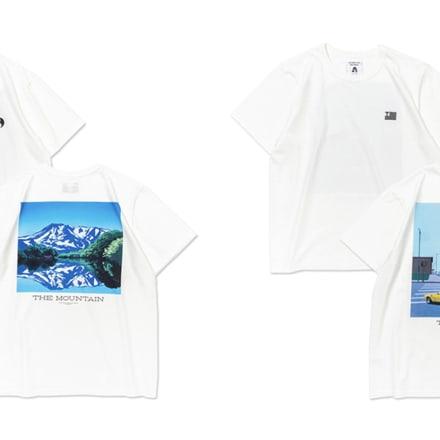 永井博 タコマフジレコーズ コラボTシャツ Image by カルチュア・コンビニエンス・クラブ