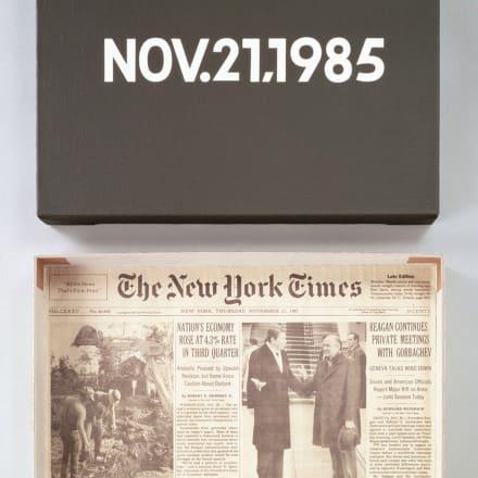 河原温《NOV.21,1985 「Today」(1966- 2013)より》1985 ©One Million Years Foundation