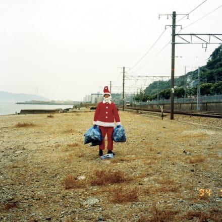 島袋道浩《南半球のクリスマス》1994