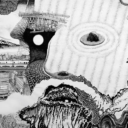 大岩オスカール《オリンピアの神:ゼウス》2019(部分)作家蔵(特別出品)