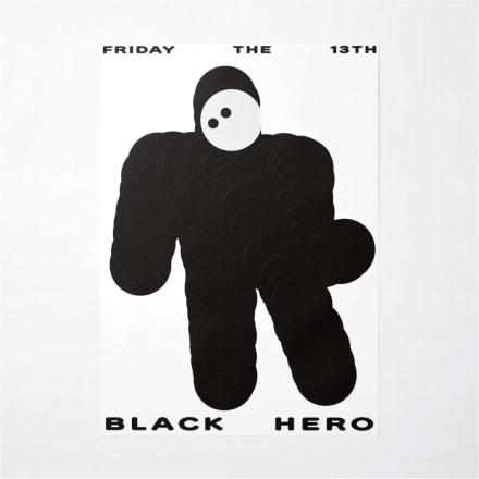 「BLACK HERO」 Image by 宇都勝宏