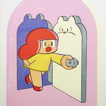 「YOU ARE THE DOOR TO MY HAPPINESS」(2021) Image by Wisut Ponnimit