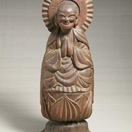 木喰五行《地蔵菩薩像》 1801年 日本民藝館