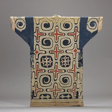 《木綿切伏衣裳》 北海道アイヌ 19世紀 日本民藝館(半期展示)
