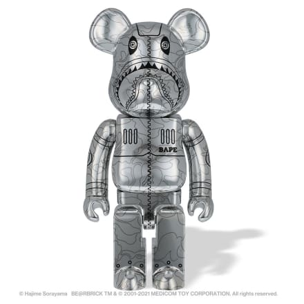 Image by BE@RBRICK TM & © 2001-2021 MEDICOM TOY CORPORATION. All rights reserved.
