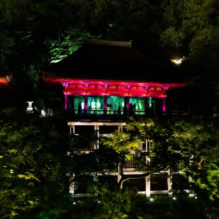 舞台から見た奥の院 Image by FASHIONSNAP