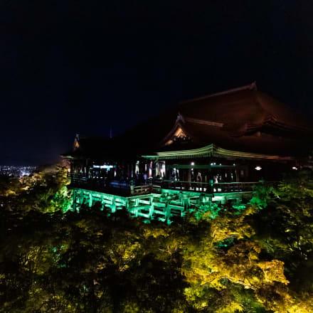 奥の院から見た本堂と舞台 Image by FASHIONSNAP
