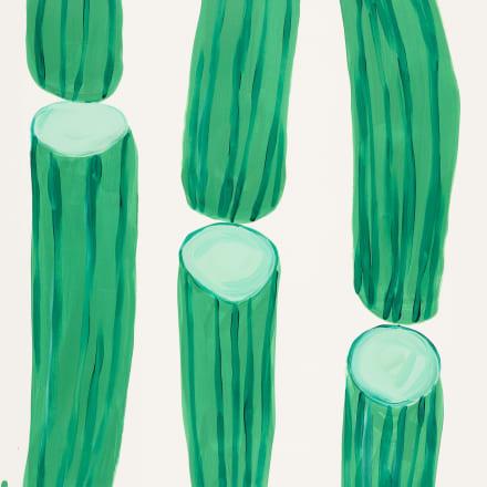 David Shrigley, 'Untitled', 2020. Acrylic on paper, 76 x 56cm (30 x 22in). Framed: 82 x 62cm (32 1/4 x 24 1/2in). Courtesy the artist and Yumiko Chiba Associates, Tokyo/ Stephen Friedman Gallery,London. Copyright David Shrigley. Photo : Todd-White Art Pho