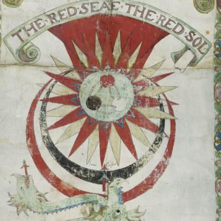 ジェームズ・スタンディッシュ『リプリー・スクロール』(部分) 16世紀 大英図書館蔵 ©British Library Board