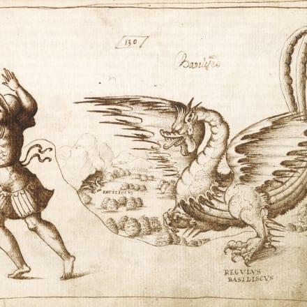 『動物誌』1595年 大英図書館蔵 ©British Library Board