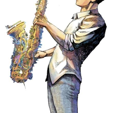 描き下ろし新作漫画作品の一部イメージ 石塚真一 『Tokyo Sound』より ©石塚真一