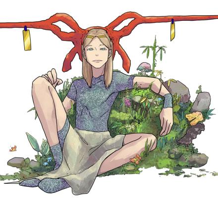 描き下ろし新作漫画作品の一部イメージ 大童澄瞳 『East East』より ©大童澄瞳