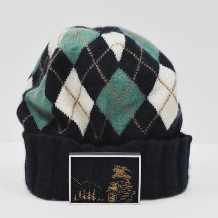 PLUS_BURBERRY_argyle knit cap》 2020 年