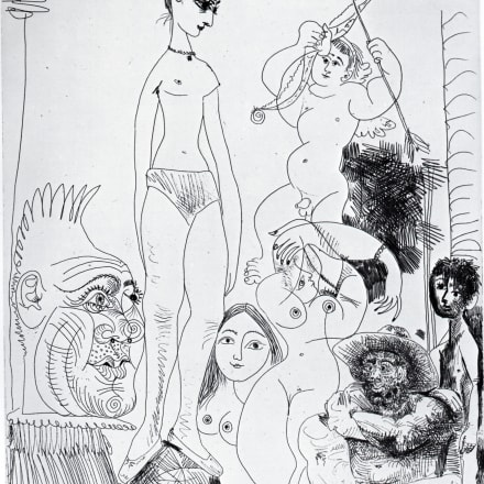 「自画像への変換」エッチング 1968年