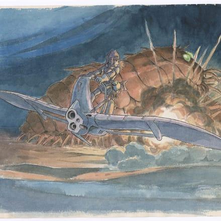 『風の谷のナウシカ』(1984)イメージボー ド 宮崎駿 © 1984 Studio Ghibli・H