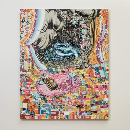 水野里奈「真夜中」2020年 キャンバスに油彩©MIZUNO Rina Courtesy Mizuma Art Gallery