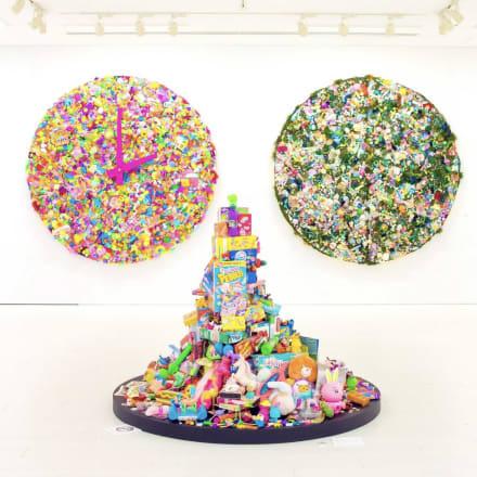 作品「Colorful Rebellion -WORLD TIME CLOCK-」