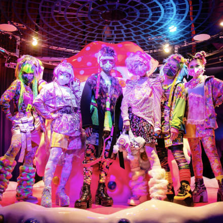 「6%DOKIDOKI」ファッションショー