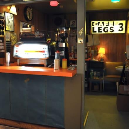 コーヒースタンド「CAFE LEGS(カフェレッグス)」