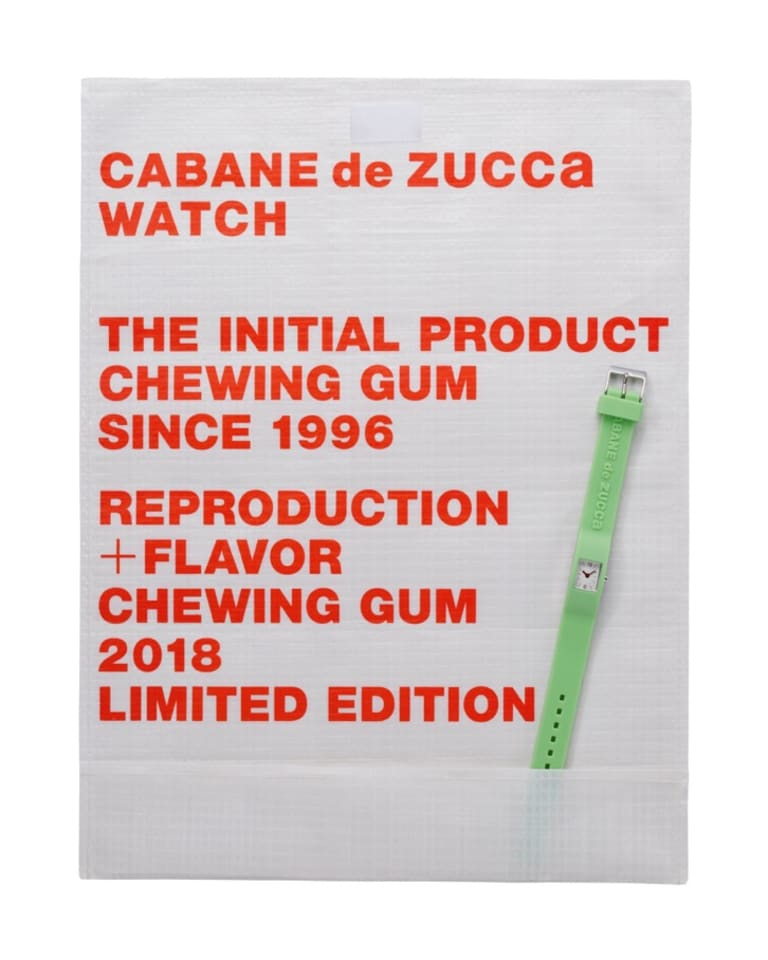 REPRODUCTION + FLAVOR Chewing Gum 2018 Limited Edition