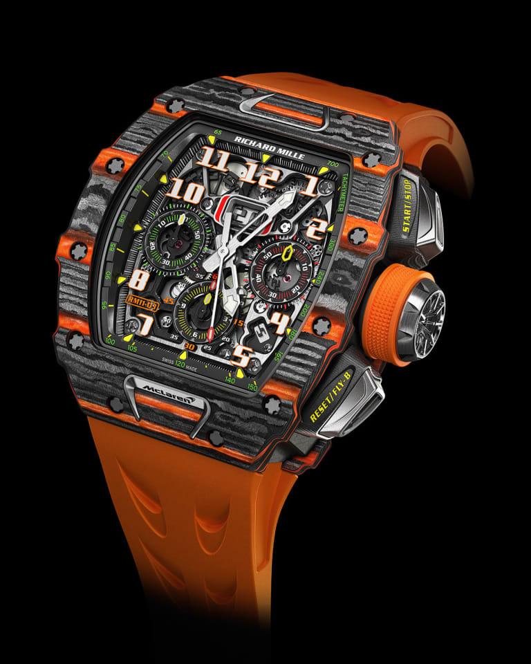 「RM 11-03 オートマティック フライバック クロノグラフ マクラーレン」特別製作モデルのプロトタイプ