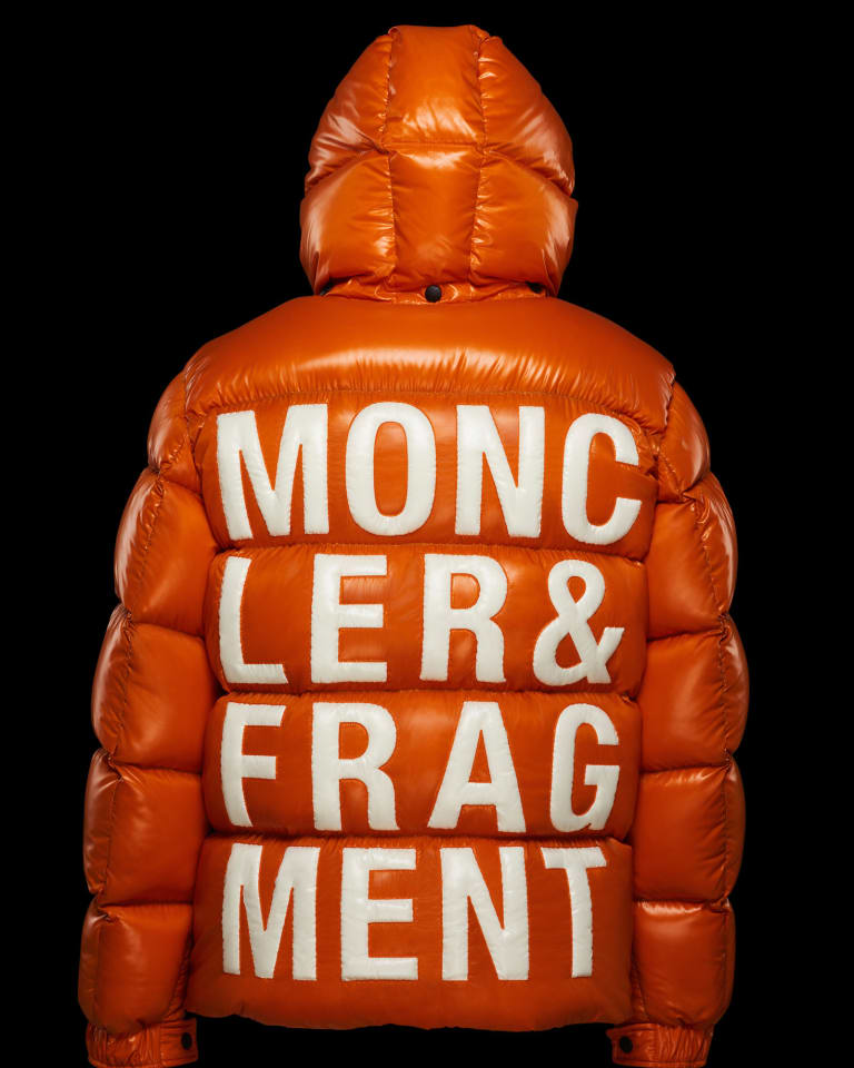 山下智久がフィルムで着用したダウンジャケット「ハンリオット」(23万9,000円)