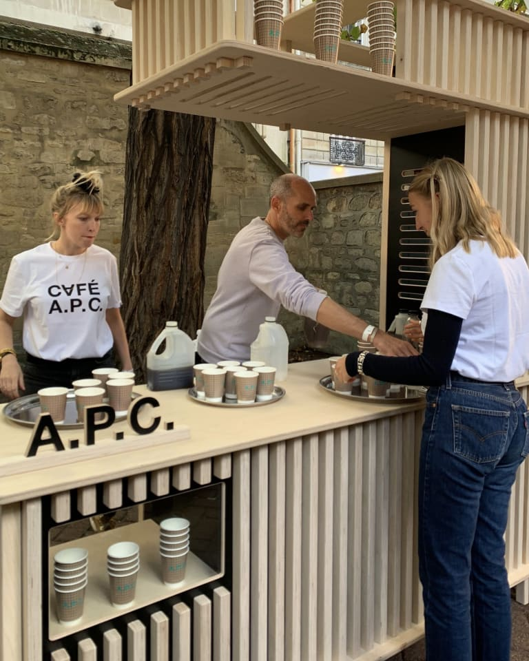A.P.C. カフェ