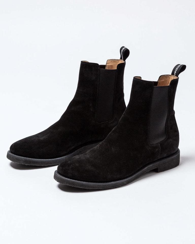 nonnative×MINEDENIM Side Gore Boots ブラック(税別8万5,000円)