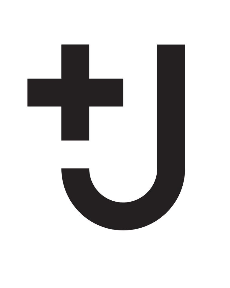 「+J」ロゴ