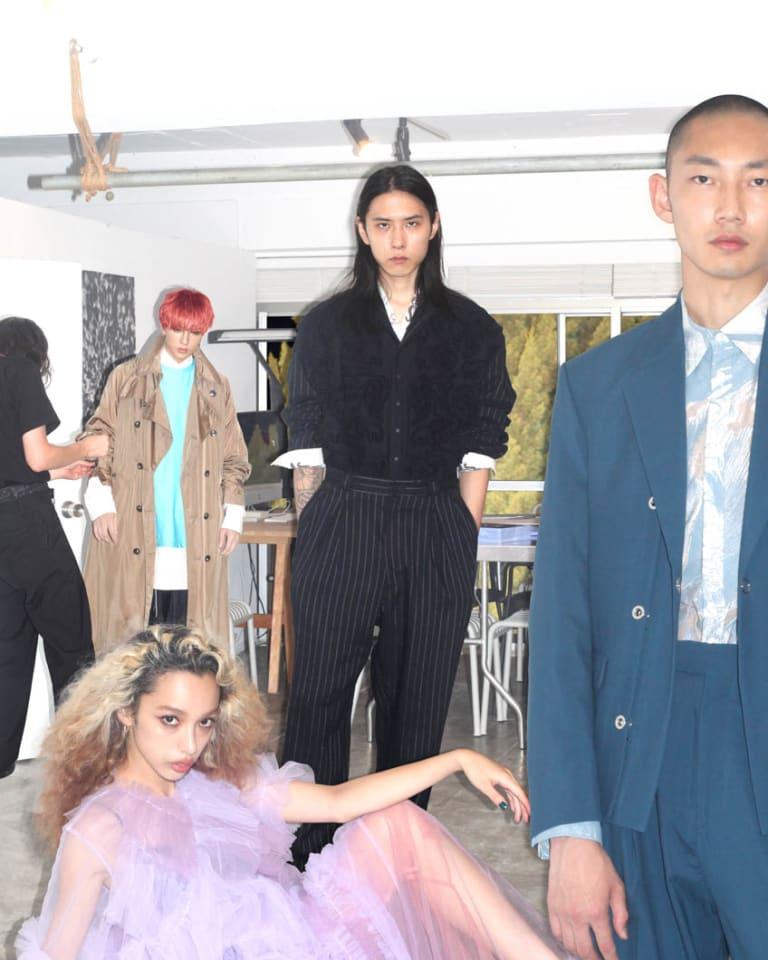 「Rakuten Fashion Week TOKYO 2021 S/S」キーヴィジュアル©Japan Fashion Week Organization