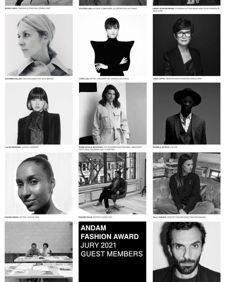 「アンダム ファッション アワード」2021年のゲスト審査員