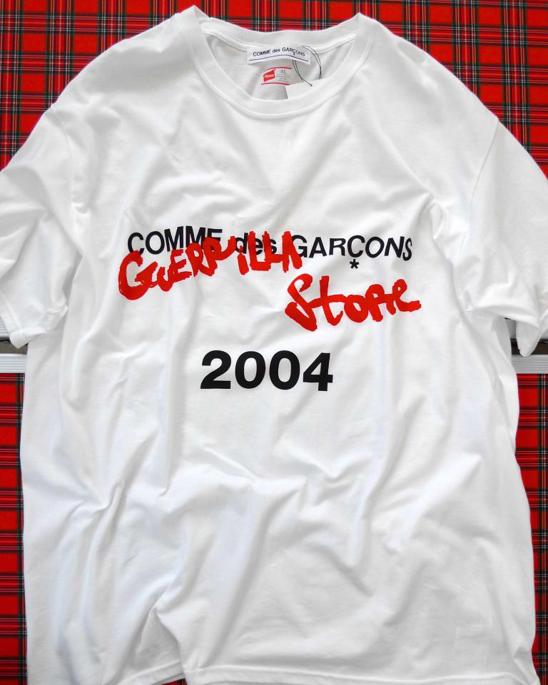 GUERRILLA STORE限定アイテム:Tシャツ