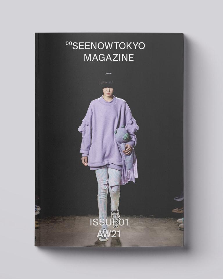 SEENOWTOKYO MAGAZINE 表紙