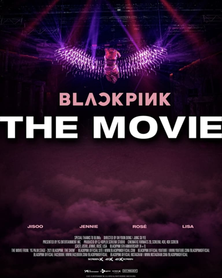 「BLACKPINK THE MOVIE」メインヴィジュアル
