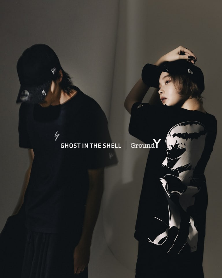 Ground Y × GHOST IN THE SHELL SAC_2045 × New Era