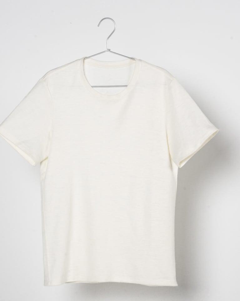 大麻布100%Tシャツ