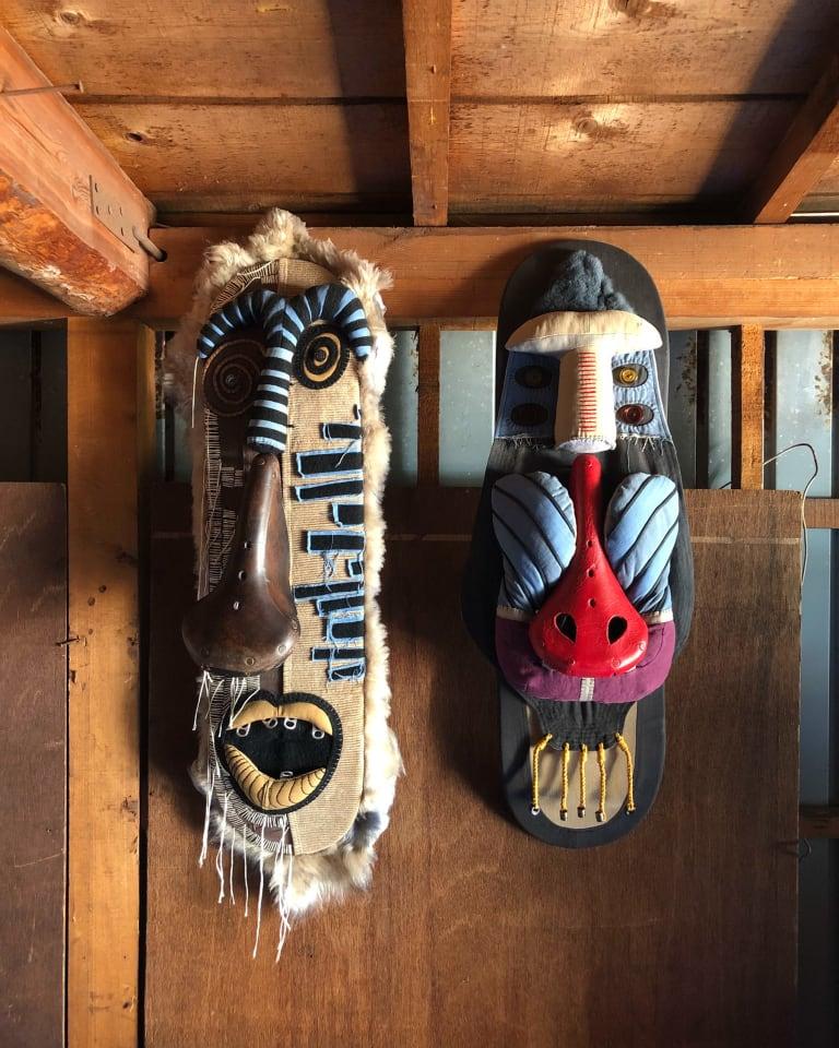 村山伸のマスク作品