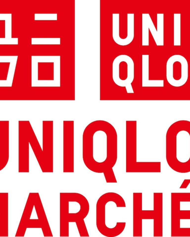 「ユニクロマルシェ プランタン銀座」ロゴ