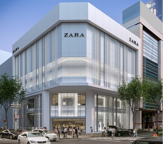 店舗 zara ZARA展開のインディテックス、約1200店舗閉鎖へ-2020年6月発表、新型コロナ影響で