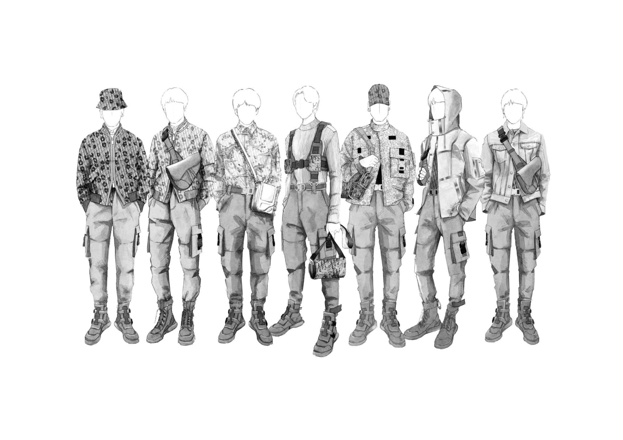 衣装 bts Dior(ディオール)がBTSのツアー衣装手掛ける ブランド史上初の試み